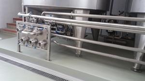 PU Duro-Boden hergestellt in der Milchverarbeitungsanlage.