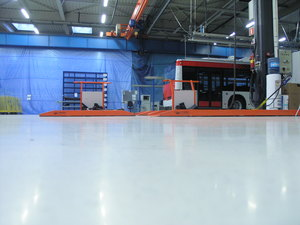 Quarzcolor industrial resin floor.
